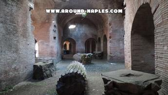 In the Phlegrean Fields there is the ancient underground of Flavian Amphitheater in Pozzuoli
