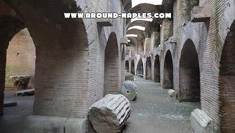 The amphitheater of Pozzuoli: the subsoil